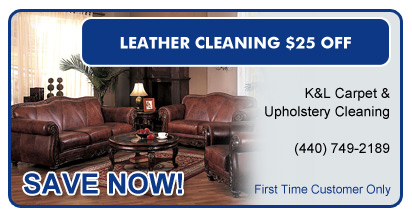 Leather Cleaning $25 Off